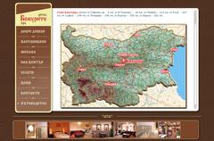 Хотел Божурите карта на България