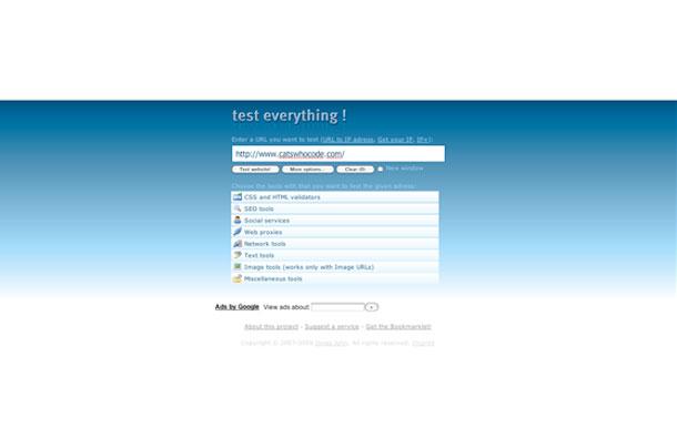 Test Everything