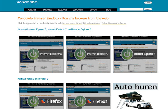 Xenocode Browsers